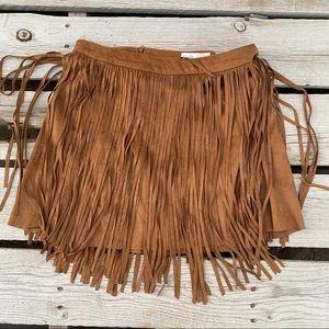 NWT Jolt woman's mini brown skirt 5